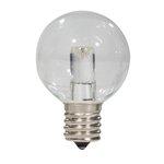S14 LED Clear Bulb 3W 2700K with E17 Base