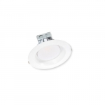 25W 8in LED Retrofit Can, Triac Dimmable, 100V-277V, 5000K, White