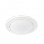 5/6in 15W LED Retrofit Ceiling Light, Dimmable, 4000K