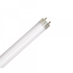 12W 4-ft LED T8 Tube w/ Metal End Caps, 1800 lm, Ballast Compatible, 4000K