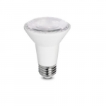 8W LED PAR20 Bulb, Dimmable, 3000K