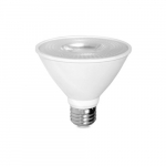 12W LED PAR30 Bulb, Short Neck, Dimmable, 3000K