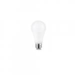 17W LED A21 Bulb, 125W Retrofit, E26 Base, 2000 lm, 4000K