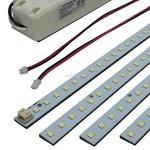 5000K, 2 Inch by 24 Inch, 20W LED Troffer Retrofit Magnetic Module, DLC