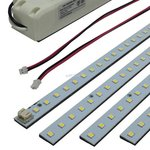 "4000K 32W 2""x48"" Frosted LED Troffer Retrofit Magnetic Module"