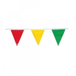 100-ft Pennant Flags, Multi-Color