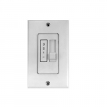 1 Amp Mechanical Control for Single 48 & 56-in Fans, Noiseless, 120V