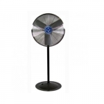 24-in Industrial Fan Head  & Pedestal, 2-Speed Pull Chain