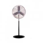 30-in Oscillating Industrial Fan Head  & Pedestal, 2-Speed Pull Chain