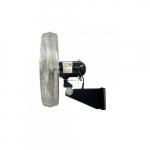 30-in Oscillating Industrial Fan Head  & Wall Mount, 2-Speed Pull Chain