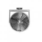 36in Permanent Mount Fan w/Explosion-Proof Motor, 1-Way Swivel, 1.5 HP, 3 Ph, 14850CFM