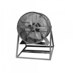 42in Direct-Drive Cooling Fan, Med. Stand, 5 HP, 3 Ph, 27000CFM