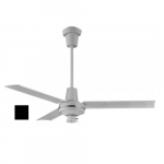 56-in 114.3W Specialty Ceiling Fan, Up to 3800 Sq Ft, 120V, Black
