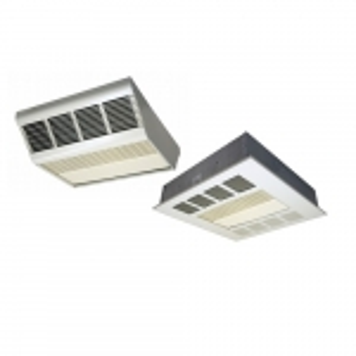 120/277V Fan-Forced Ceiling Heater, Frame Only, 13700 BTU/hr