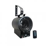 1800W/4800W Garage Unit Heater, 208V/240V, Black