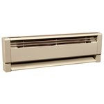 500W at 120V, 2.3 Foot Hydronic Baseboard Heater, Beige