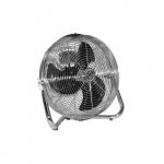 12-in 1.2 Amp Industrial Floor Fan, 3-Speed, 1550-2650 CFM, 1/15 HP