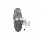 24in Heavy-Duty Fan Head for LHHD Series 1/4 HP