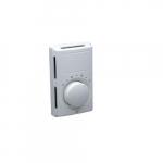 Line Voltage Thermostat, Simultaneous Switch, Aluminum