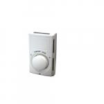 22A Line Voltage Thermostat, Single Pole Switch