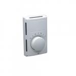 Line Voltage Thermostat w/ Heat Anticipator, Dual Pole Switch