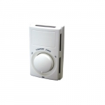 22A Line Voltage Thermostat w/ Heat Anticipator, Dual Pole