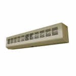 42-in Architectural Low Profile Air Curtain, 1/10 HP, 1040-1380 CFM, 120V