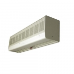 60-in Contemporary Low Profile Air Curtain, 1/8 HP, 1550-2060 CFM, 240V, Powder Paint