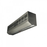 60-in Contemporary Low Profile Air Curtain, 1/8 HP, 1550-2060 CFM, 240V, Stainless Steel
