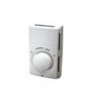 22A Line Voltage Thermostat, Single Pole Switch, Economy