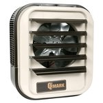 5KW 347V Garage Unit Heater 1-Phase Almond