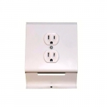 120V Duplex Receptacle for 2500 Series Baseboard Heater, White