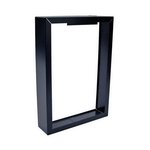Black, Surface Mounting Frame for Residential Smart Wall Heater