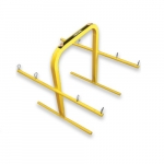 Wire Spool Hand Cart, Yellow