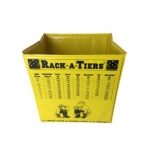 10-in Small Pop-Up Garbage Can, Yellow