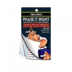 #46-90 Low Voltage Sticker Booklets for Phase Marking, Brown, Orange & Yellow