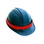 Rechargable 360 Degree LED Safety Headband Light, Orange