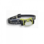 Rechargable Head Light w/Batteries, 150 lm, 5 Hour Run Time
