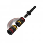 4-in Magnetic Hex Drivers, Dual-Sided, Red & Yellow