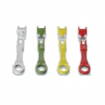 Proprietary Jack Locks - Color Coded w/Key, 10 Pack