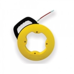 49.2-Ft Fish Tape in Case, Single Strand, Yellow