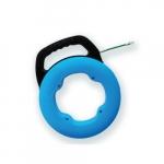 98.4-Ft Fish Tape in Case, Single Strand, Blue
