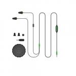 2 in 1 Industrial Bluetooth Headphones & Ear Plugs w/ Mic, Black & Green