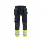 Pants w/ Velcro Pockets & Vis Bottoms, Full Weight, Size 38/32