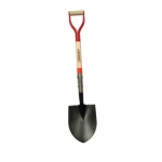 #2 Round Point Shovel w/ 30-in Hardwood Handle