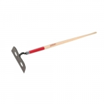 10-in Forged Mortar Hoe w/ 66-in Hardwood Handle