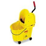 WaveBrake Yellow 35 qt. Combo w/ Downward Pressure Wringer