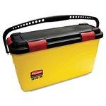 Yellow/Black Charging 6.8 Gal Bucket