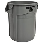 Brute Gray Round 10 Gal Container