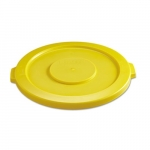 Brute Yellow 22 in. Round Lids for 32 Gal Containers